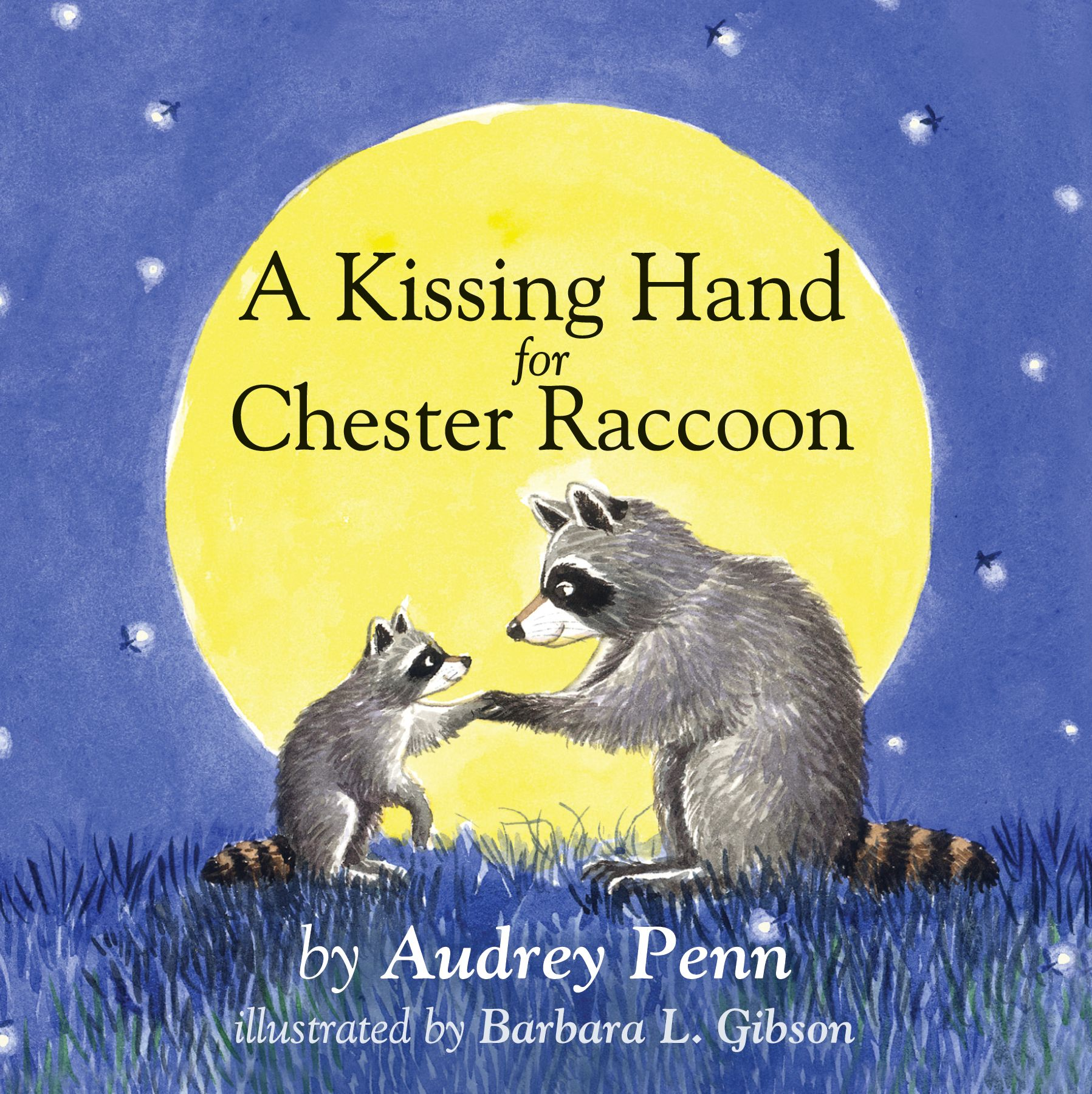 A Kissing Hand for Chester Raccoon Board Book Cover