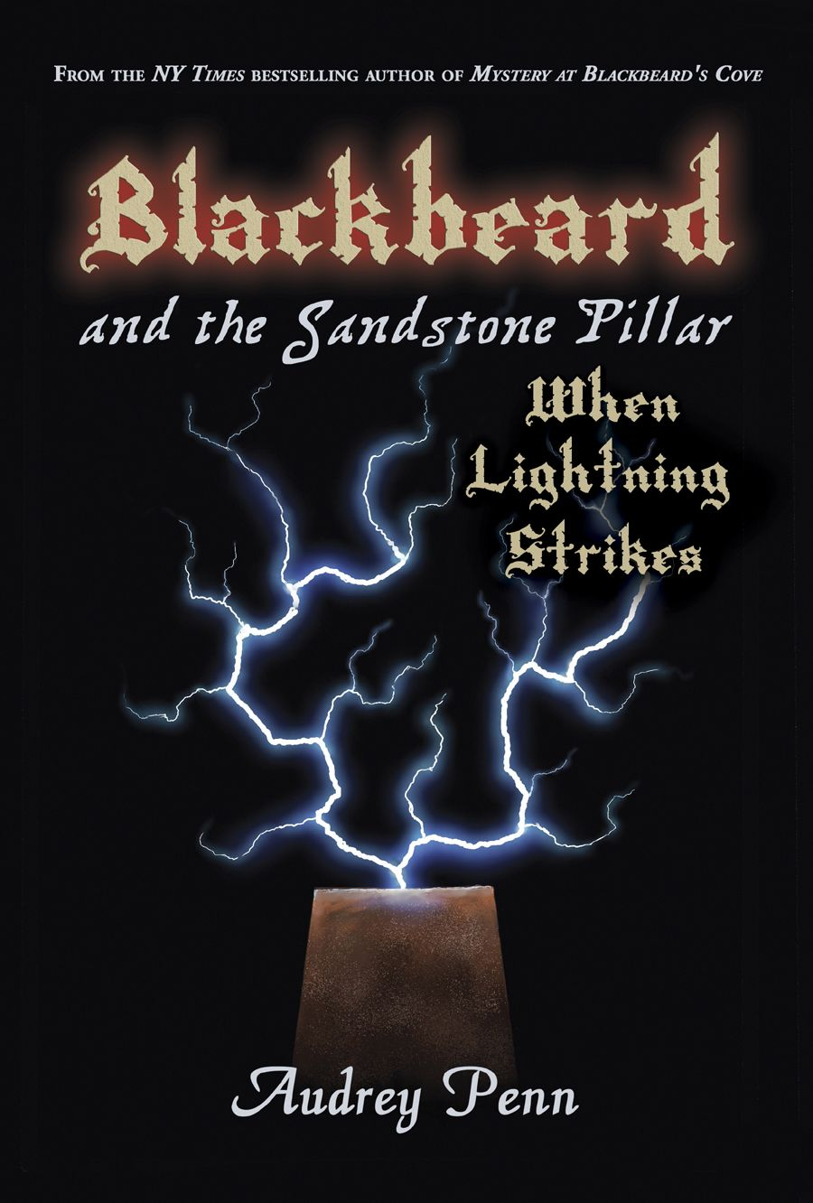 Blackbeard and the Sandstone Pillar Book Cover