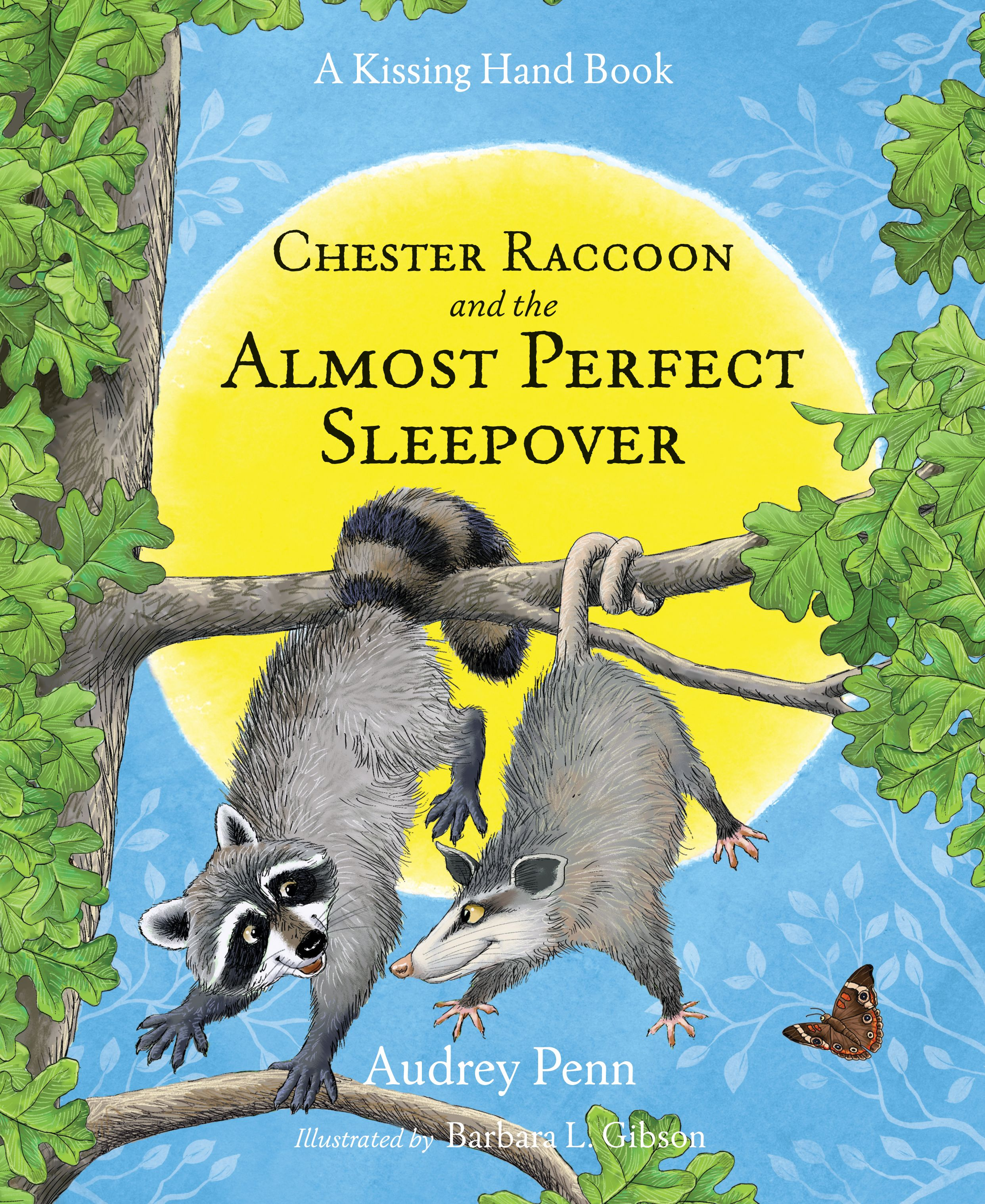 Chester Raccoon and the Almost Perfect Sleepover 2016 Book Cover