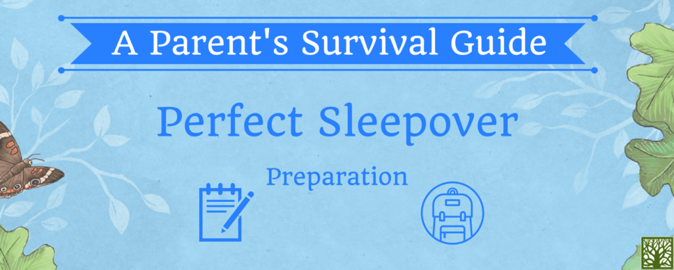 A Parent's Survival Guide Sleepover Prep Blog Post