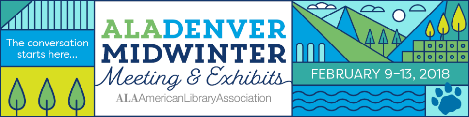 ALA Midwinter 2018 logo