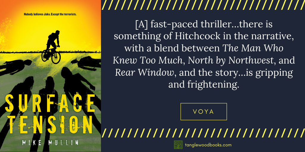 Surface Tension Available in Paperback in May